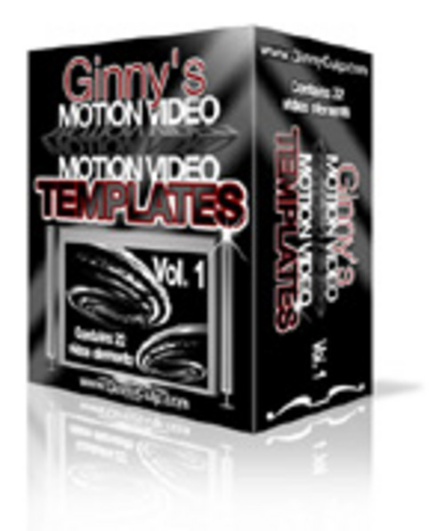 Product picture Motion Video Elements and Backgrounds + 2 Mystery BONUSES!