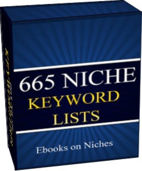 Product picture 665 Niche Keyword Lists - with 2 Mystery BONUSES!