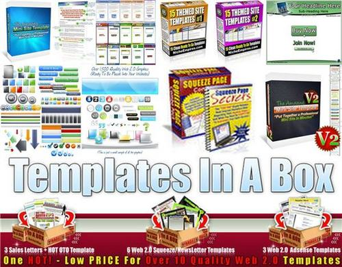 Product picture Ultimate Minisite Templates Pack + 2 Mystery BONUSES!