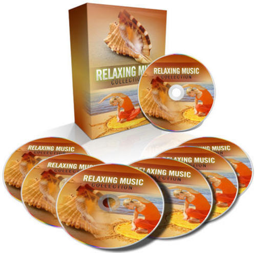 Product picture Relaxing Music - Audio MP3s with MRR + 2 Mystery BONUSES!