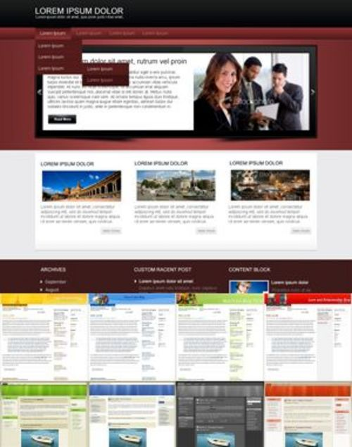 Product picture Refined WordPress Theme - with 2 Mystery BONUSES!