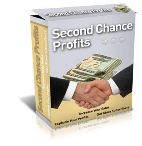 Product picture Second Chance Profits - UNBLOCKABLE Exit Popup Survey Script