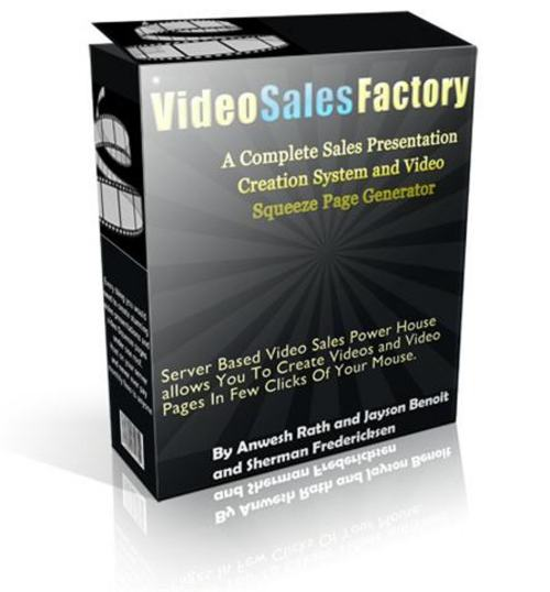 Product picture Video Sales Factory Software - MRR + 2 Mystery BONUSES!