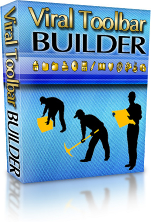Product picture Viral Toolbar Builder Software - with PLR+2 Mystery BONUSES!