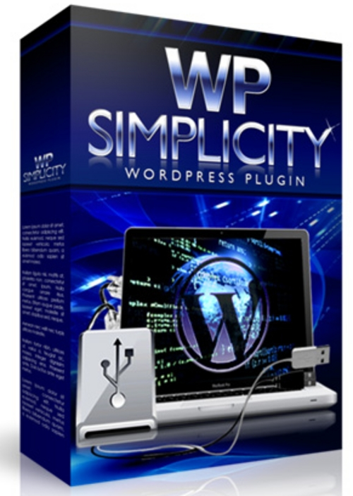 Product picture WP Simplicity - Autoblogging Plugin for Wordpress+BONUSES!
