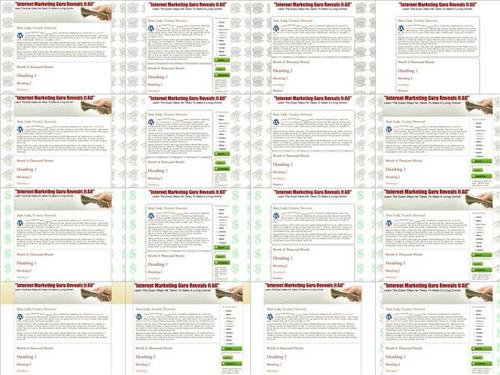 Product picture WordPress Salespage Themes Pack V1 - PLR+2 Mystery BONUSES!