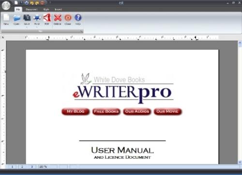 Product picture E-WriterPro Professional Ebook Creator Software-MRR+BONUSES!
