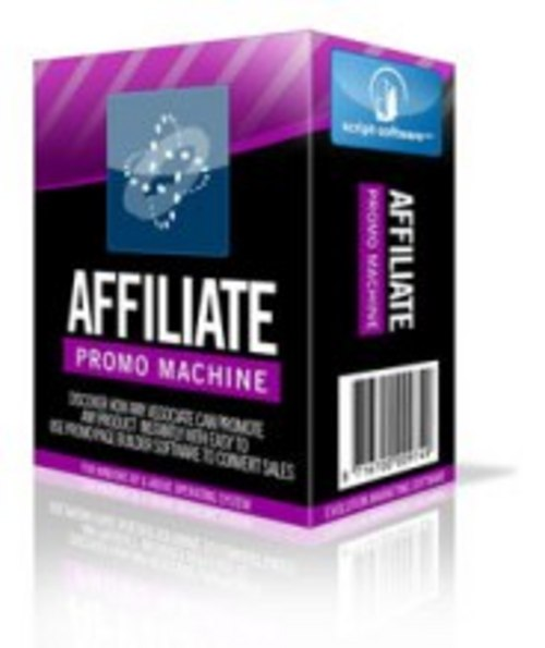 Product picture Affiliate Promo Machine - Resell Rights+2 MYSTERY BONUSES!