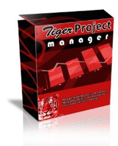 Product picture Tiger Project Manager Software - MRR + 2 Mystery BONUSES!