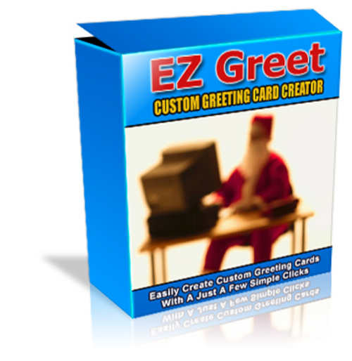 Product picture EZ Greet Greeting Card Software - MRR + 2 Mystery BONUSES!