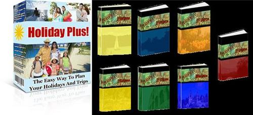 Product picture Holiday Plus - Holiday Planner Package with MRR + 2 BONUSES!