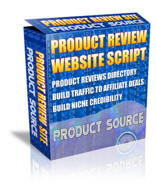 Product picture Product Review Script - Private Label Rights+Source Code!