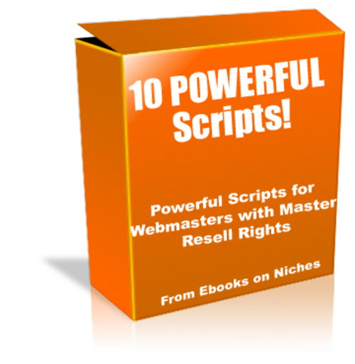 Product picture 10 Powerful Scripts for Webmasters - with MRR+ 2 BONUSES