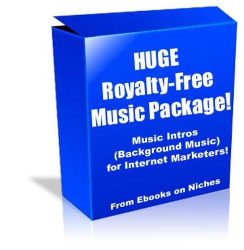 Product picture HUGE Royalty-Free Music Package for Internet Marketers!
