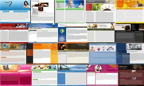 Product picture 10 Website Templates Pack - with 2 Mystery BONUSES!