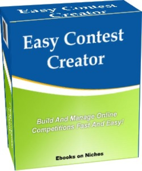 Product picture Easy Contest Creator - Build & Manage Online Contests Easily