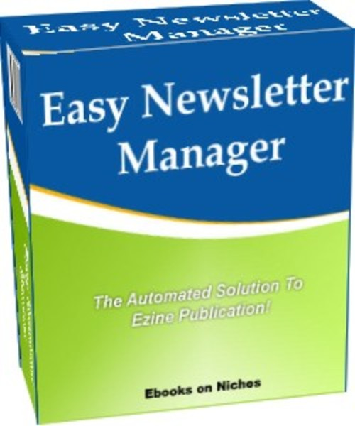 Product picture Easy Newsletter Manager - Automatic Ezine Publication!