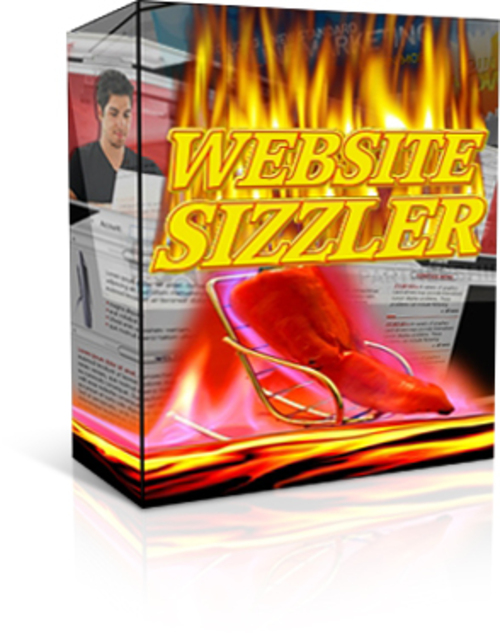 Product picture Website Sizzler - with Private Label Rights + 2 BONUSES!