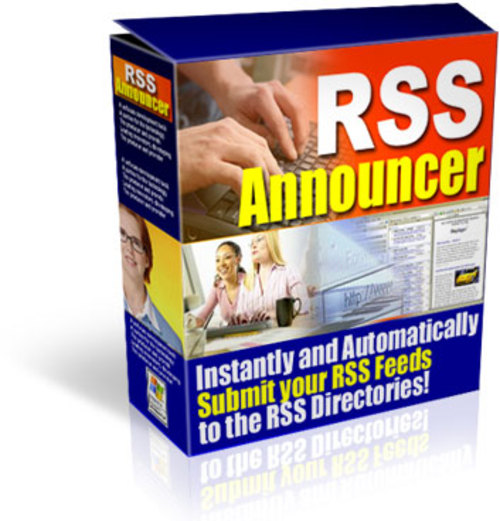 Product picture RSS Announcer - with FULL PLR and Source Code + 2 BONUSES!