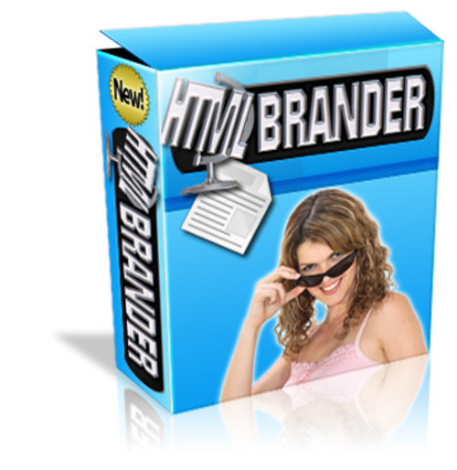 Product picture HTML Brander - with PLR and Source Code + 2 Mystery BONUSES!