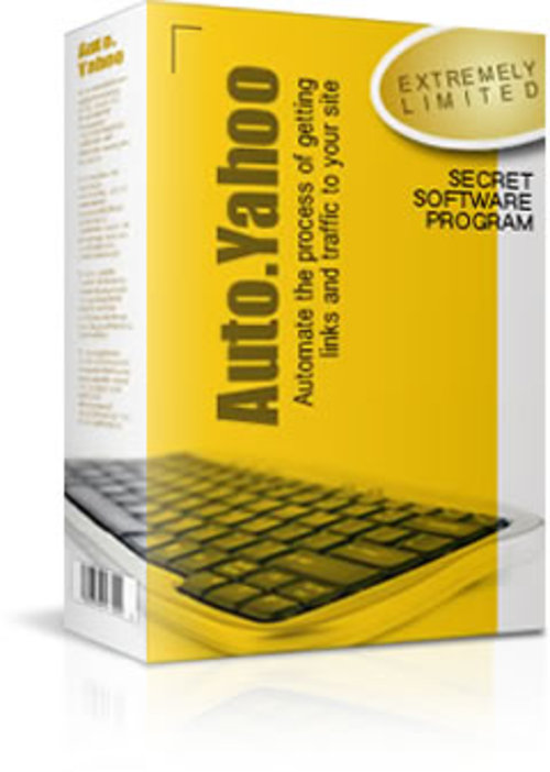 Product picture Auto Yahoo - with Master Resell Rights + 2 Mystery BONUSES!