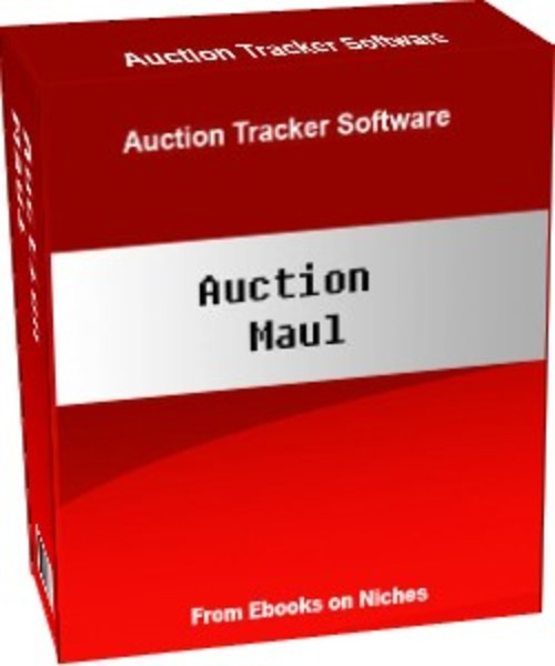 Product picture Auction Maul - Auction Tracker with MRR + 2 Mystery BONUSES!