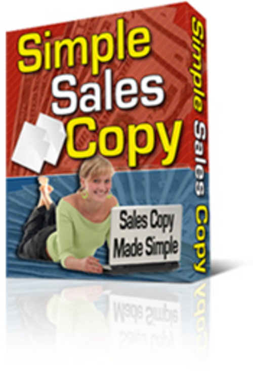 Product picture Simple Salescopy Tool with A FREE BONUS