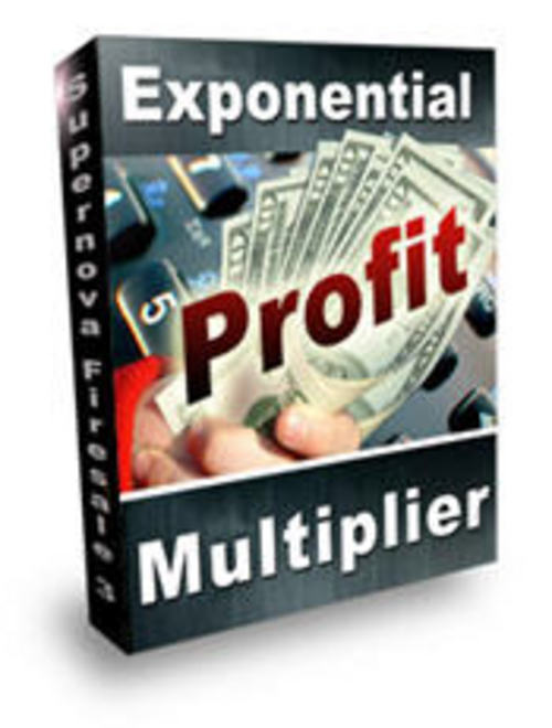 Product picture Exponential Profit Multiplier with 2 MYSTERY BONUSES
