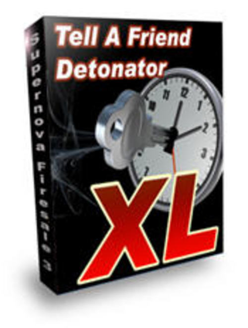 Product picture Tell A Friend Detonator XL with 2 MYSTERY BONUSES!