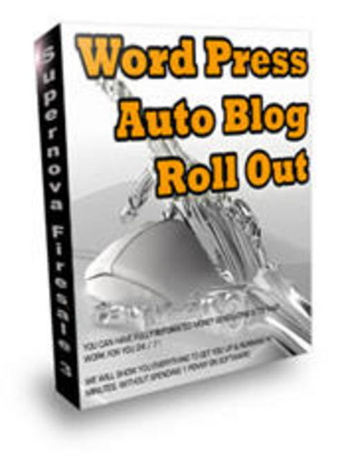 Product picture WordPress AutoBlogging Script with An UNANNOUNCED BONUS