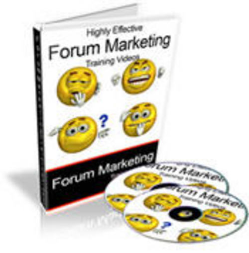 Product picture Forum Marketing Videos with An UNANNOUNCED BONUS!