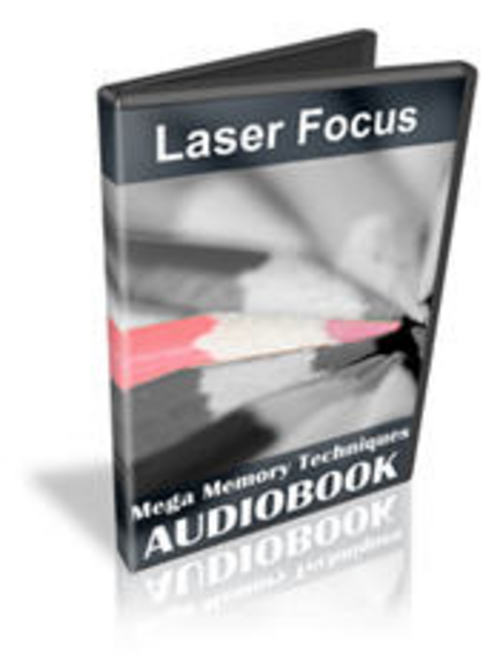Product picture Laser Focus Mega Memory Techniques with MASTER RESELL RIGHTS
